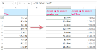 Excel Floor Ceiling Functions by Excel Ceiling Round Down Integralbook Com