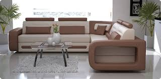 couleur canapé canapé d angle cuir theo italien