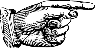 Pointing hand clipart Clipart Collection