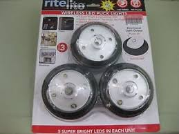 Buy Lightmates LED Wireless Puck Lights with Remote &amp