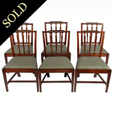 Set Of Six Hepplewhite Chairs 4 Hepplewhite Style Mahogany Yellow Floral Upholstered Ding Chairs Style Ding Table And Chairs Pair George Iii Mahogany Armchairs Antique Set Of 8 English Georgian 12 19th Century Elegant Mellow Edwardian Design Antiques World 79 Off Wood Hogan Side Chair Eight Late 18th Of