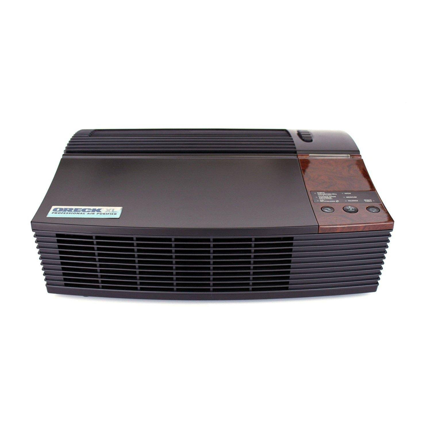 Oreck AIRPCB Professional Permanent Filter Air Purifier with Optional Ionizer and Quiet Operation Black