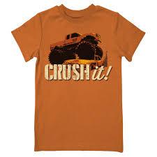 100 Monster Truck T Shirts Crushing It Farm Boy Blue Short Sleeve Shirt