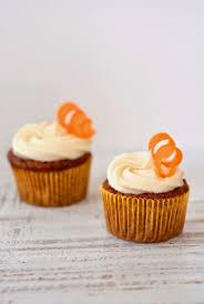 GLuten free Pecan Carrot Cake Cupcakes with Vanilla Bean Cream Cheese Frosting