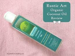Rustic Art Organic Coconut Oil Review