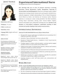 Sample Resume For Nurses Freshers With This Is Format Nurse Samples