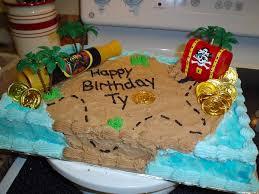 pirate birthday cake ideas