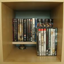 Minimalistic DVD Rack In An Expedit