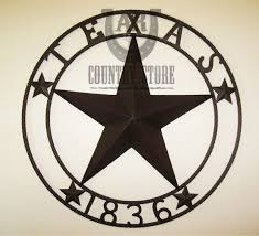 Texas 1836 Metal Barn Star Rope Ring Circle Wall Hanging Art Sign ... Custom Star Light Fixture 36 Inch Metal Sign Barn Wood By West 26 Welcome Barn Star Metal Wall Art Western Home Decor Bronze Amazoncom 1 X Rustic Dimensional Brown Wall Decor Good Look Stars Amish Large Metal Barn Stars The Hoarde 31 44 50 With Multiple Stars Amish Made Crafts Tin Star Salvaged Antique Window Frame With Texas Old Wood