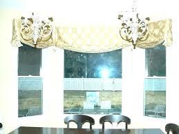 Dining Room Window Valances Living For Windows Stylist Curtain Valance Ideas