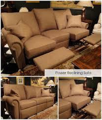 Stickley Furniture Leather Recliner by Patterson Furniture Company Quality American Made Furniture For