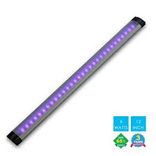 uv led black light fixture lighting 6w portable