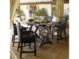 Tommy Bahama Home Kingstown Decorative Sienna Bistro Table Set ... Venice Table With 4 Chairs By Fniture Hom Tommy Bahama Kingstown 5pc Sienna Bistro Ding Set Sale Ends 3piece Occasional Bernards Fniturepick Lexington Home Brands Mercury Row End Reviews Wayfair Grand Masterpiece Royal Extendable Pedestal Room Penlands Ambrosia Terrasienna Round 48 Inch Gathering With Terra Flared Specialt Affordable Tables For Office Industry Outdoor Living Spaces Counter Colors Generations Furnishings