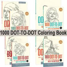 1000 DOT TO DOTAdult Coloring Book Colouring1