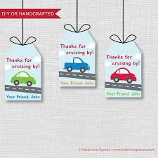 100 Free Cars And Trucks And Birthday Favor Tags And Party Etsy