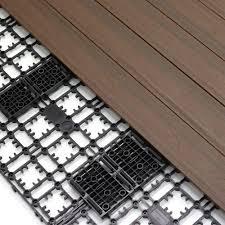 Trex Decking Pricing Home Depot by Newtechwood 8 64 Sq Ft Deck A Floor Premium Modular Outdoor
