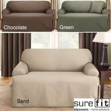 Sure Fit Dual Reclining Sofa Slipcover by Reclining Sofa Slipcover Suede Taupe Dual Recliner Couch Slip