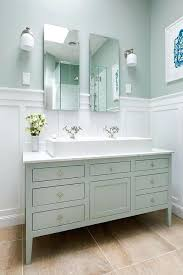 Two Faucet Trough Bathroom Sink by Long Bathroom Sinks Leaf Shape Vessel Sink Long Bathroom Sinks