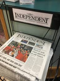 THE INDEPENDENT A Weekly Newspaper Covering Three Towns In Washington County And South