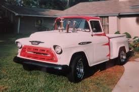 Home-Built Hero: Show-Stopping '57 Chevy Hauler 1957 Chevy Cameo Pickup Truck Hot Rod Network 1957chevy Pickup Hood Bump Give Away A Salt Flat Fury Cool Chevrolet 3100 For Sale Near Oxford Alabama 36203 Classics 3600 Gateway Classic Cars 168sct Trucks Sale In California Classy The Trade Swapping Stre Hemmings Stance Works Adams Rotors 57 Rare Apache Shortbed Stepside Original V8 Cab Big Show Truck Ac Air Ride American Dream Cadillac Michigan 49601