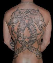 This Full Back Tattoo By Art On The Body Studio Celebrates A Scandinavian Viking Heritage