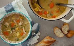 Recipe Chicken Bacon And Parsley Chowder