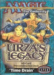 Faerie Deck Mtg Legacy by Urza U0027s Legacy Time Drain Preconstructed Theme Deck Mtg Magic