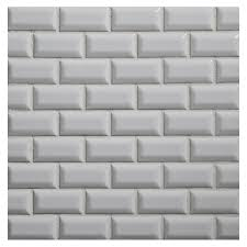 pictures of white shiny brick tiles brick 1 x 2 mosaic