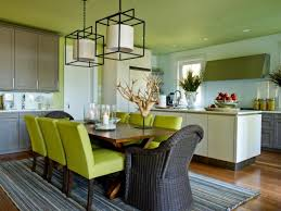 Dining Room Color Trends Green Apple