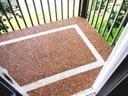 Exteriors Pebble Stone Patio Flooring Brown River Rock Ideas Floor Nail Art Design Outdoor Floorfloor With