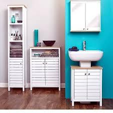 Tall Corner Bathroom Storage Cabinet by Best 25 Slimline Bathroom Storage Ideas On Pinterest Bathroom