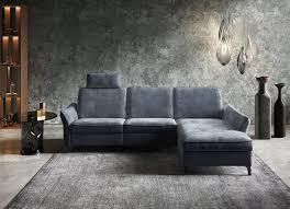 himolla ecksofa 1920 ein oder zwei integrierte relaxsitze recamiere rechts oder links armlehen verstellbar kaufen otto
