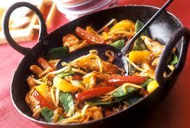 cuisiner avec un wok wok de légumes au poulet recette facile
