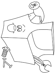 Toolbox2 Construction Coloring Pages & Coloring Book