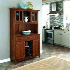 Hutch And Dining Contemporary Espresso China Cabinet Room Open Dark Sil