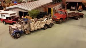 100 1 4 Scale Rc Semi Trucks Diorama 6 Scale 6 Model Toy Trucks Trucks