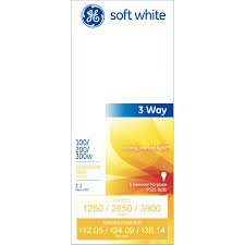 g e 皰 3 way soft white light bulbs with mogul base 41459 6