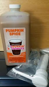 Dunkin Pumpkin Spice Donut by Dunkin Donuts Pumpkin Spice Swirl Un Opened With Pump Included