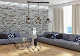 schwarze hängele skandinavisch verstellbar wohnzimmer