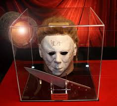 Jamie Lee Curtis Halloween H20 by Halloween Prop Knife H20 Signed Jamie Lee Curtis Autograph Mask
