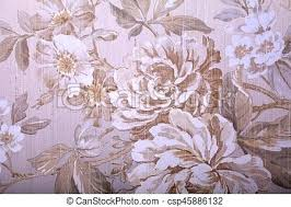Shabby Chic Wallpaper Vintage With Floral Pattern Stock Photo For Sale