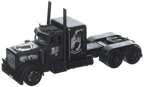 100 Toy Peterbilt Trucks Amazoncom NewRay 132 WB Black Out PowMia Veterans