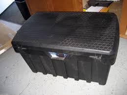 Used Contico Pro Tuff Bin 3725, Heavy Duty Travel Case 37
