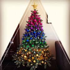 Tumbleweed Christmas Trees by Rainbow Christmas Tree Wallpaper Hometalk A Rainbow Inspired