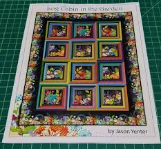 Log Cabin in the Garden Quilt Pattern In The Beginning Fabrics by