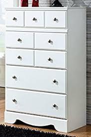 Sauder Shoal Creek Dresser Soft White Finish by Amazon Com Ashley Furniture Signature Design Lulu Chest Of
