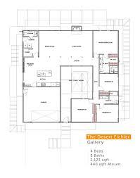 100 Eichler Home Plans The Desert Gallery Model Floor Plan Residential Etc In