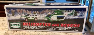 100 Hess Truck 2012 Toy Helicopter And Rescue New In Box For Sale