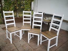 stühle holz weiß landhausstil dänisches bettenlager