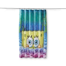 spongebob squarepants fabric shower curtain home bed bath
